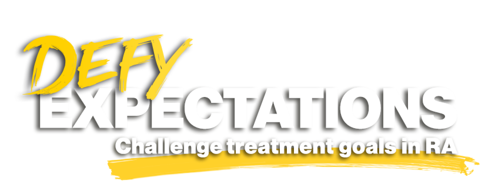 Defy Expectations - Challenge treatment goals in RA